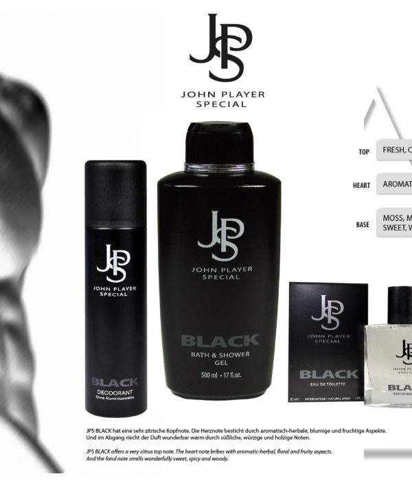 John Player Special Black Hand & Body Lotion 3 x 500 ml