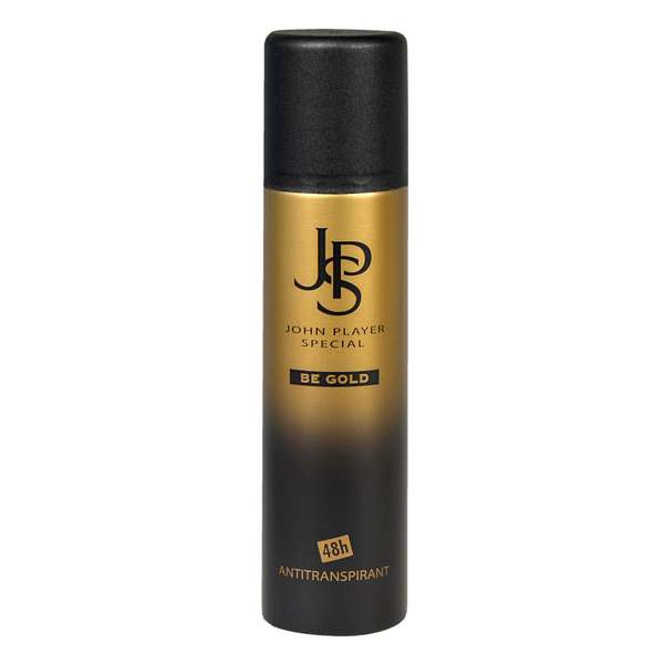 John Player Special BE GOLD 48h Antitranspirant Deodorant Spray 150 ml