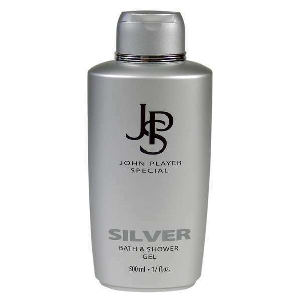John Player Special Silver Bath & Shower Gel, 500 ml