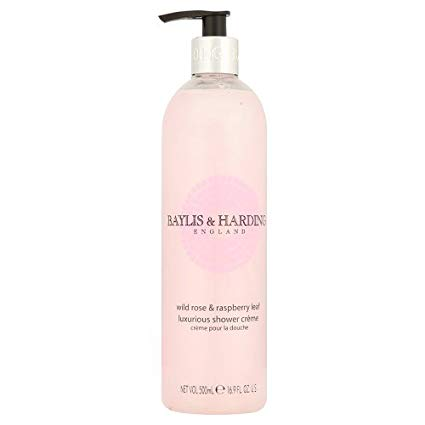 Baylis & Harding Wild Rose & Raspberry Leaf Shower Creme 500 ml