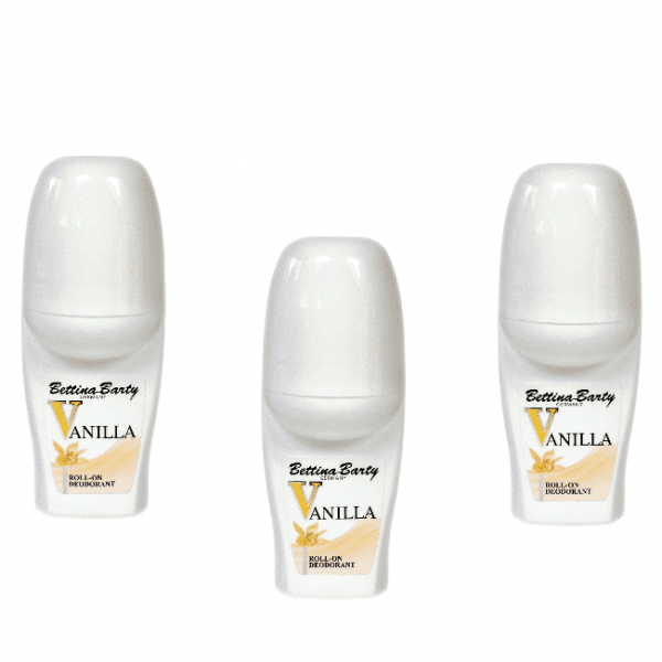 Bettina Barty Vanilla Deodorant 3 x 50 ml