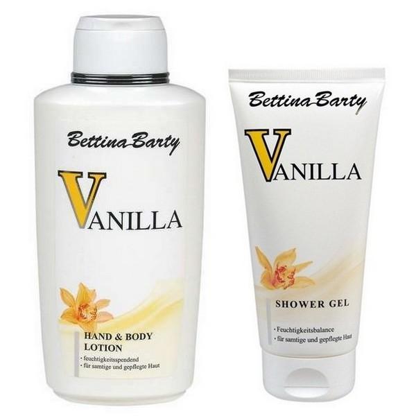 Bettina Barty Vanilla Body Lotion 500 ml & Shower Gel 150 ml