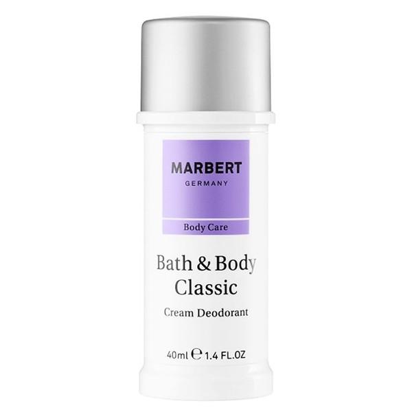 Marbert Bath & Body Classic Cream Deodorant 40 ml