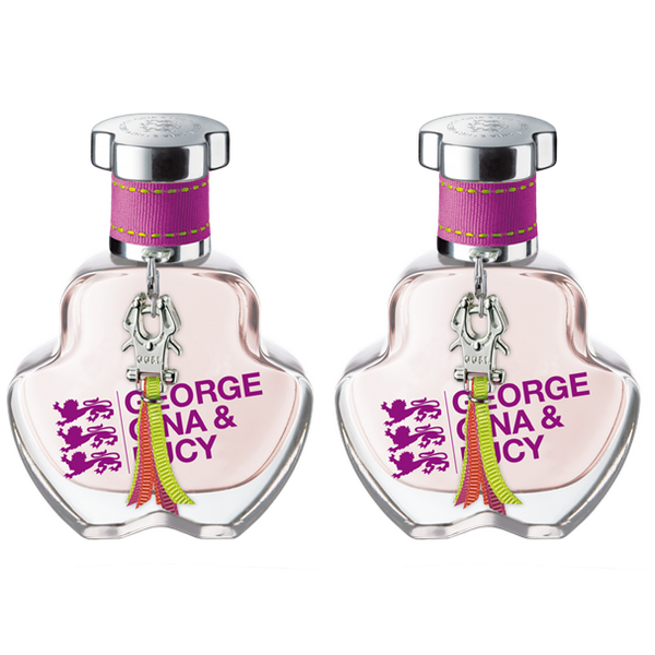 George Gina & Lucy Eau de Licious Eau de Toilette Spray 2 x 30 ml | Ohne Kartonverpackung