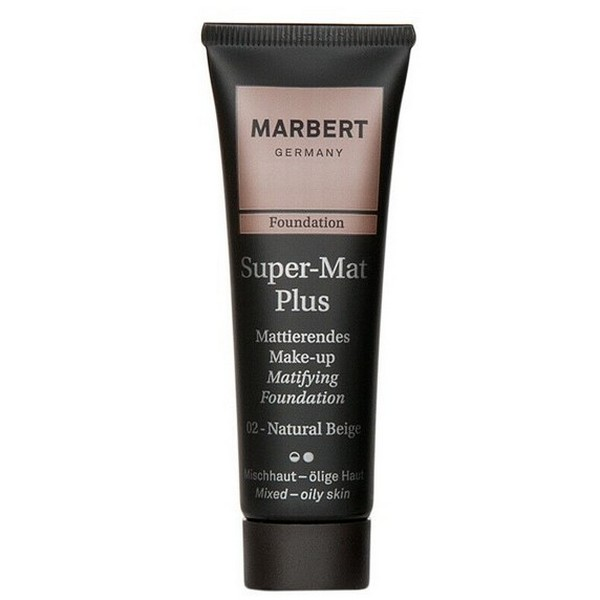MARBERT SuperMatPlus Foundation Make-up 02 Natural Beige 2 x 30 ml