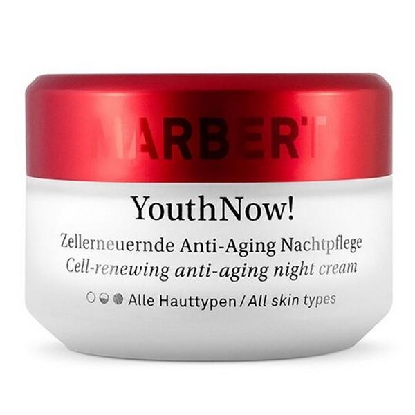 Marbert Youth Now Zellerneuernde Anti Aging Nachtpflege alle Hauttypen 50 ml