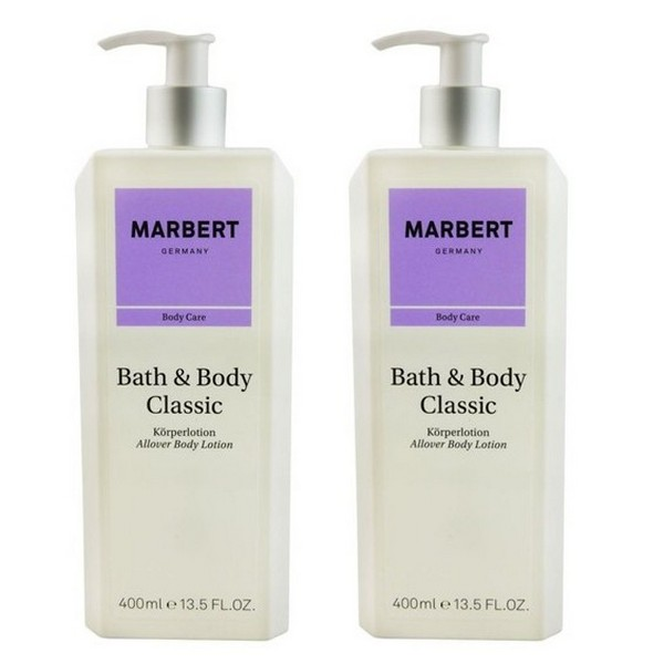 Marbert Bath Body Classic Body Lotion 2 x 400 ml
