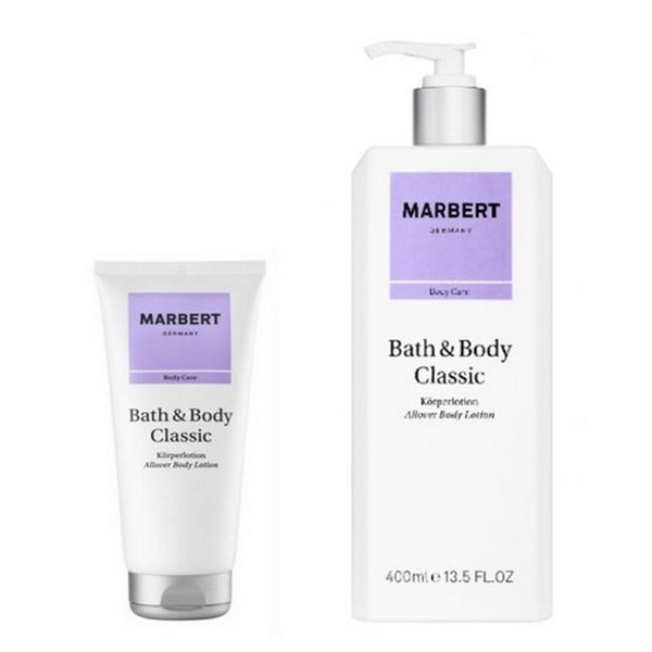 Marbert Bath Body Classic Body Lotion 400 ml & Shower Gel 200 ml