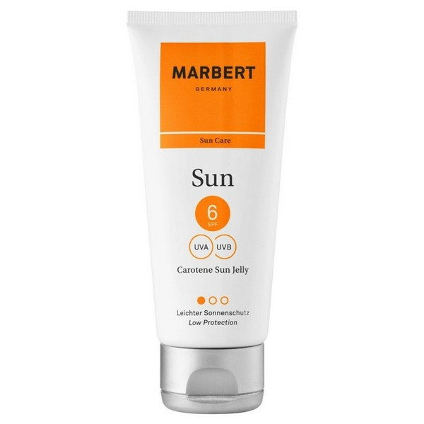 Marbert Carotene Sun Jelly Bronzing gel for face and body SPF 6 100 ml