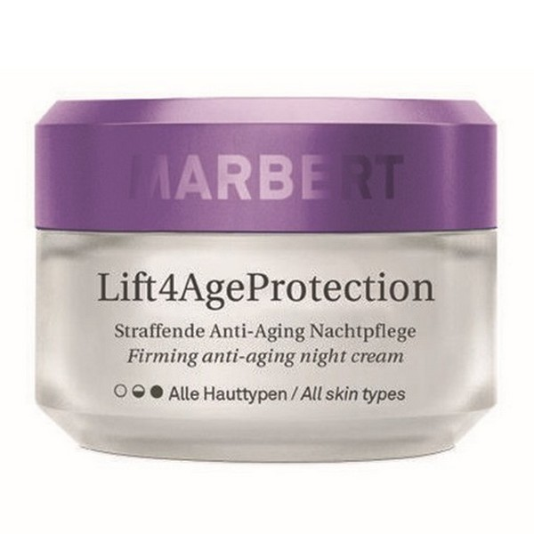Marbert Lift 4 AgeProtection Anti Aging Nachtpflege Night Cream 50 ml