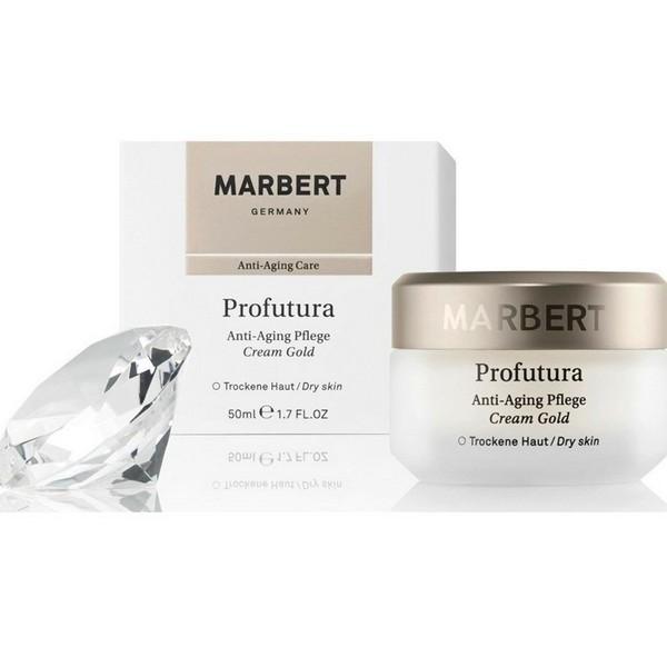 Marbert Profutura Anti Aging Pflege Cream Gold Trockene Haut 50 ml