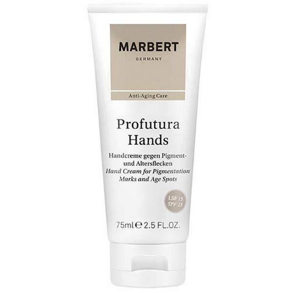 Marbert Profutura Hands Handcreme gegen Pigment und Altersflecken 75 ml