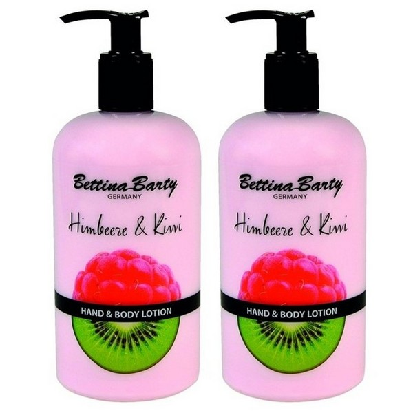 Bettina Barty Himbeer & Kiwi Hand Body Lotion 2 x 500 ml