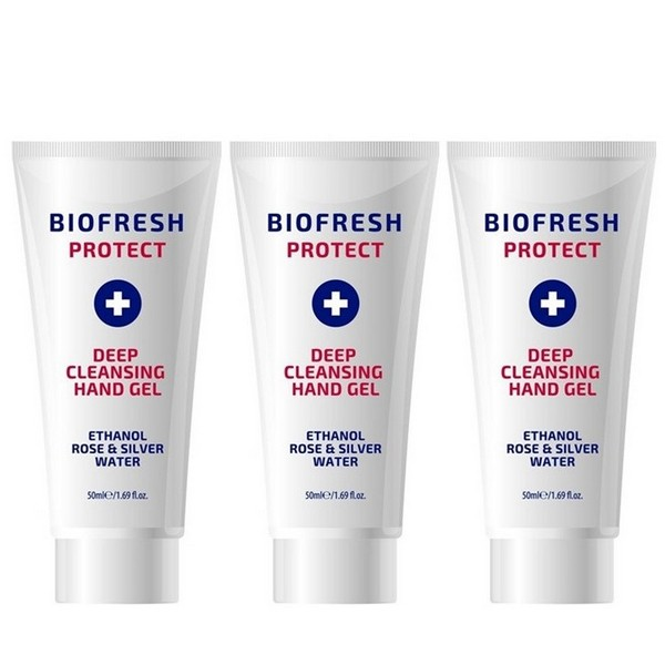 Biofresh Protect Antibacterial Disinfection Hand Gel 3 x 50 ml