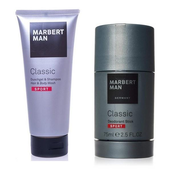 Marbert Man Classic Sport Shower Gel & Shampoo 200 ml + Deodorant 75 ml