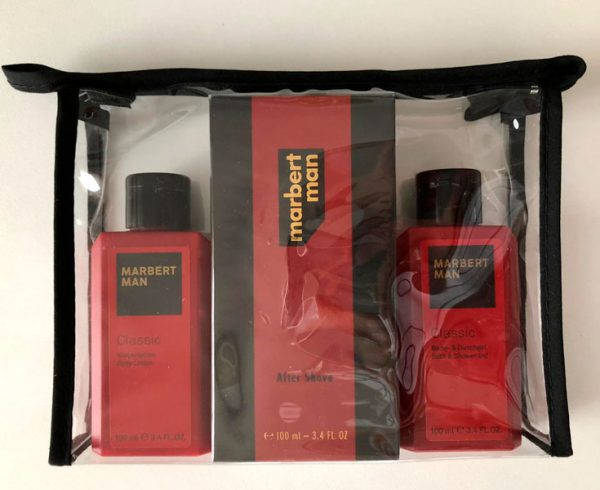 Marbert Man Classic After Shave 100 ml + Shower Gel 100 ml + Body Lotion 100 ml