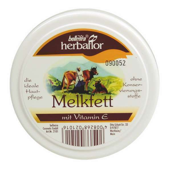 Herbaflor Melkfett mit Vitamin E 2 x 250 ml