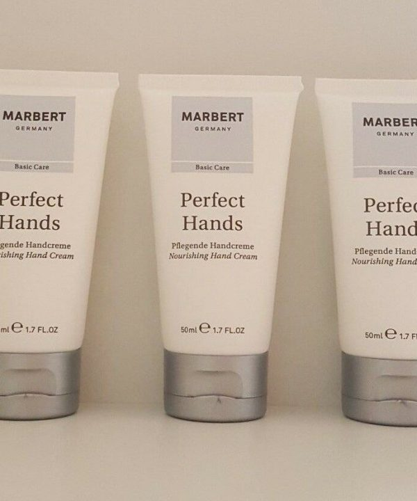 Marbert Perfect Hands Nourishing Hand Cream All Skin Types 3 x 50 ml