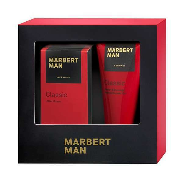 Marbert Man Classic After Shave 100 ml & Duschgel 200 ml