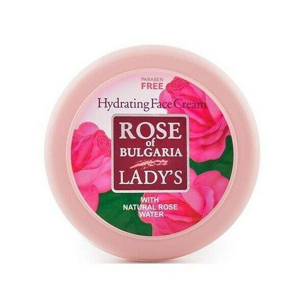 BioFresh Rose of Bulgaria Feuchtigkeitscreme mit Rosenwasser 3 x 100 ml