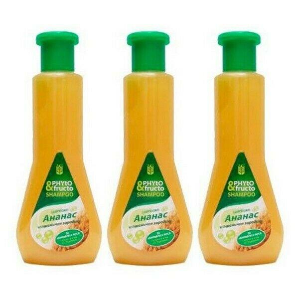 BioFresh Phyto & Fructo Ananas Shampoo 3 x 500 ml