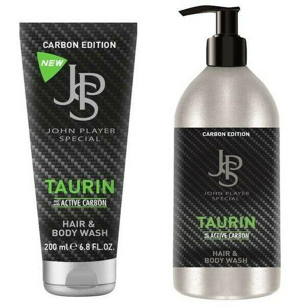 John Player Special Carbon Taurin Hair & Body Wash 200 ml & 500 ml