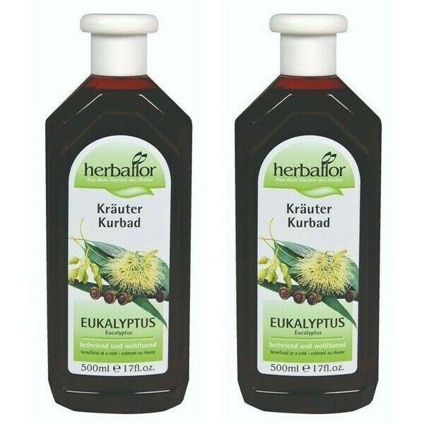 Herbaflor Eucalyptus Herbal Spa Bath 2 x 500 ml