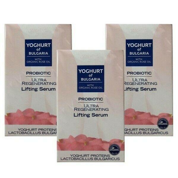 Biofresh Yoghurt of Bulgaria Probiotic Ultra Regenerating Lifting Serum 3x35 ml