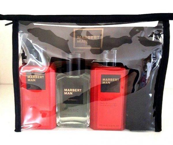 Marbert Man Classic After Shave 50 ml & Duschgel 100 ml & Körperlotion 100 ml