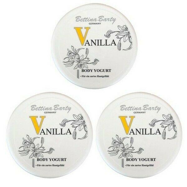 Bettina Barty Vanilla Yogurt Körper Feuchtigkeitspflege 3 x 300 ml