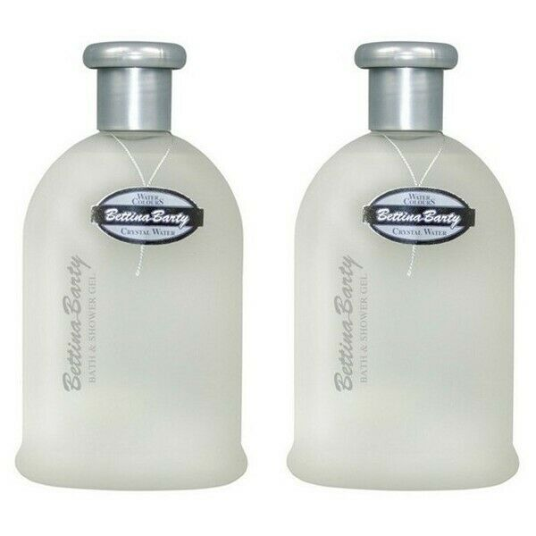 Bettina Barty Crystal Water Bath & Shower Gel 2 x 500 ml