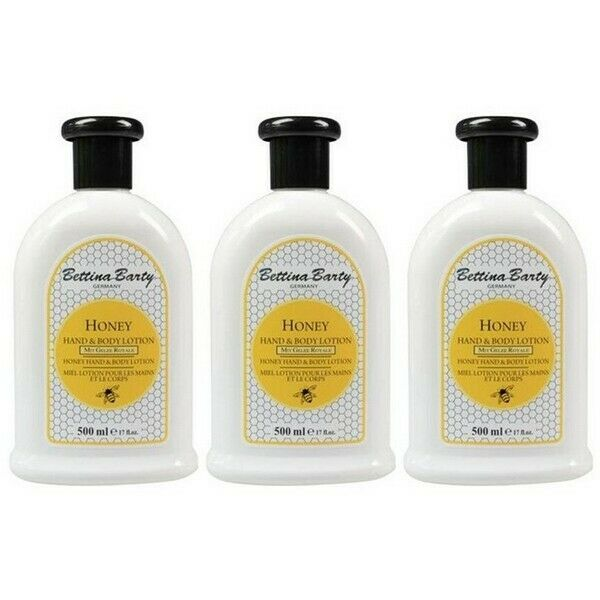 Bettina Barty Honey Hand & Body Lotion 3 x 500 ml