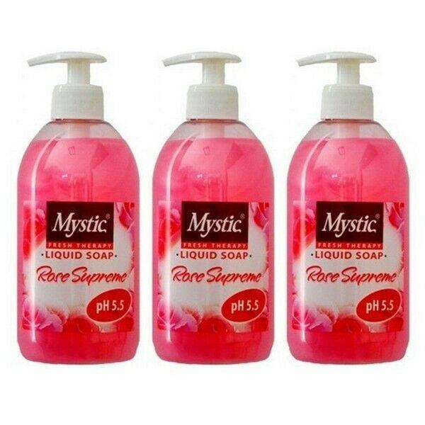 BioFresh Mystic Flüssigseife Rose Supreme pH 5.5 3 x 500 ml