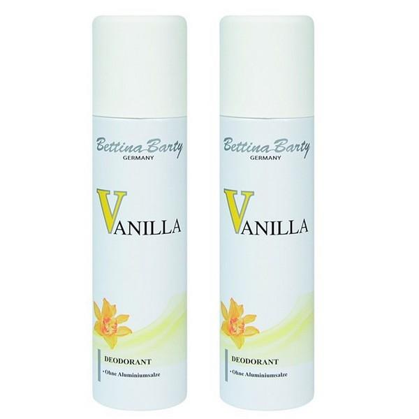 Bettina Barty Vanilla Deodorant Spray 2 x 150 ml