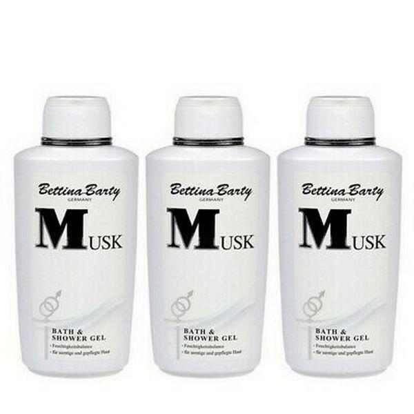 Bettina Barty Musk Bath & Shower Gel 3 x 500 ml