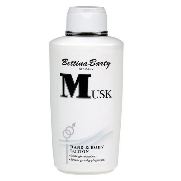 Bettina Barty Musk Hand & Body Lotion 500 ml x Deo Roll-On 50 ml