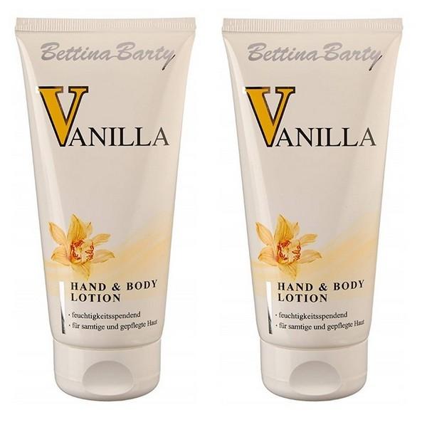 Bettina Barty Vanilla Hand Body Lotion 2 x 150 ml