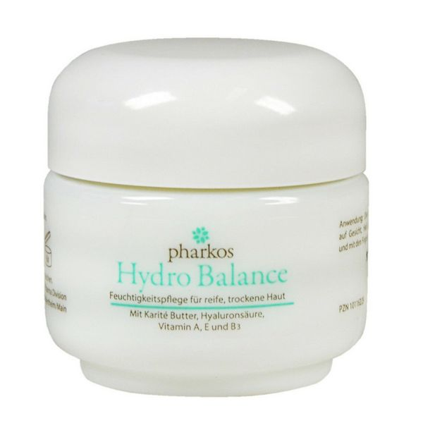 Pharkos Hydro Balance Face Cream with Vitamin A E B3 100 ml