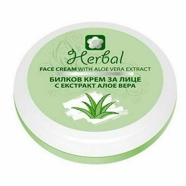 Biofresh Herbal Gesichtscreme mit Aloe Vera Extrakt 3 x 75 ml