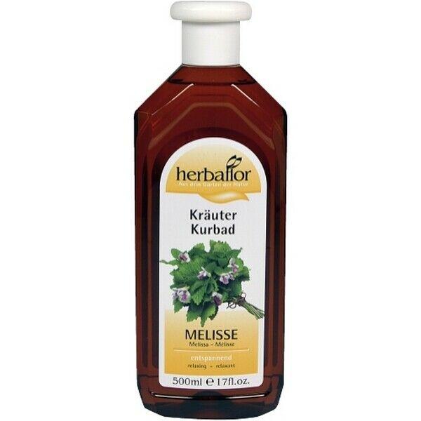 Herbaflor Melisse Kräuter Kurbad 2 x 500 ml