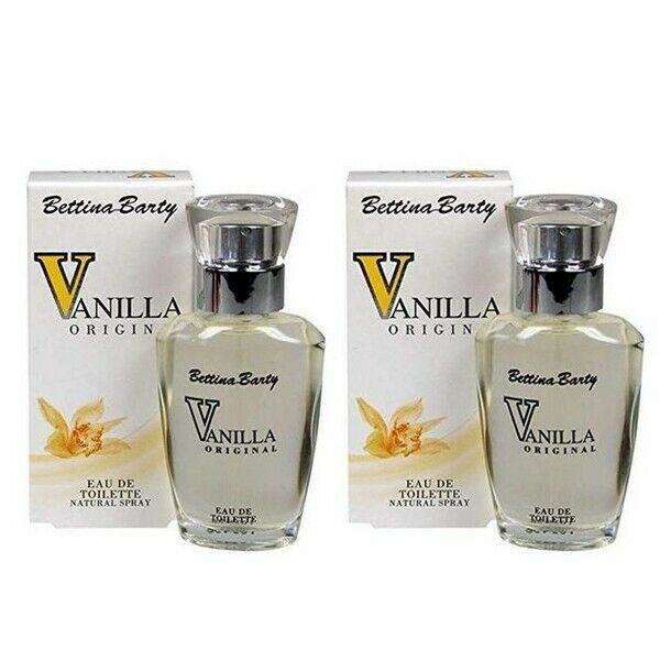 Bettina Barty Vanilla Original Eau de Toilette Natural Spray 2 x 30 ml