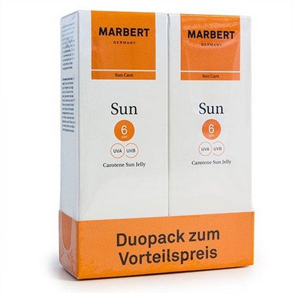 MARBERT Carotene Sun Jelly Bräunungsgel für Gesicht und Körper 2 x 100 ml