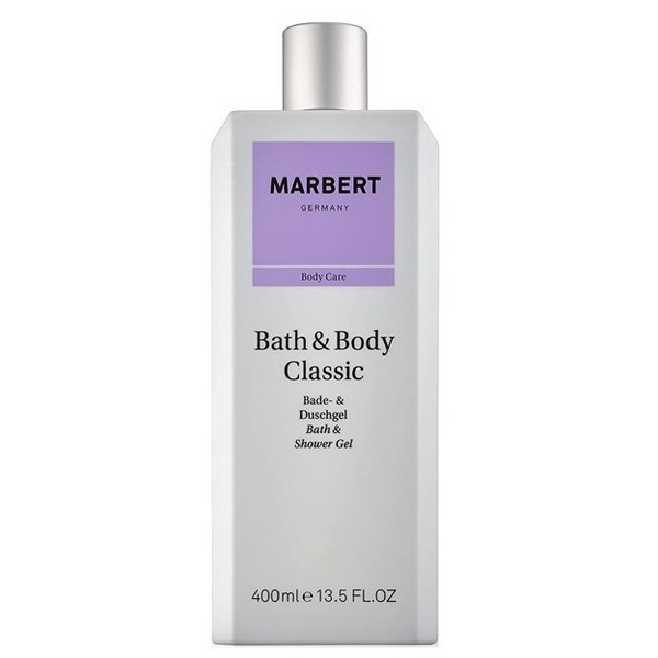 Marbert Bath & Body Classic Körperlotion 2 x 400ml + Bade & Duschgel 2 x 400ml