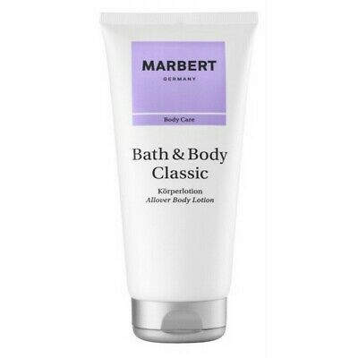 Marbert Bath & Body Classic Body Lotion 3 x 200 ml