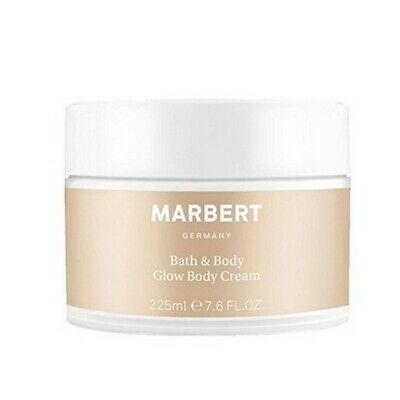Marbert Bath & Body Glow Body Cream Schimmernde Körperpflege 3 x 225ml