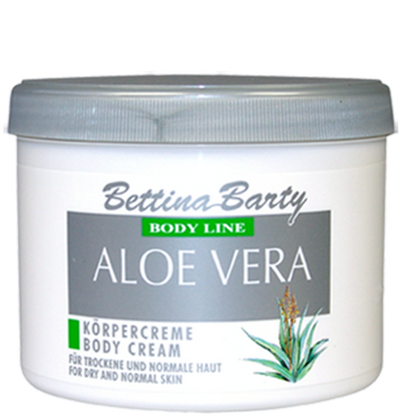 Bettina Barty Aloe Vera Shower Gel 500 ml & Aloe Vera Körpercreme 500 ml