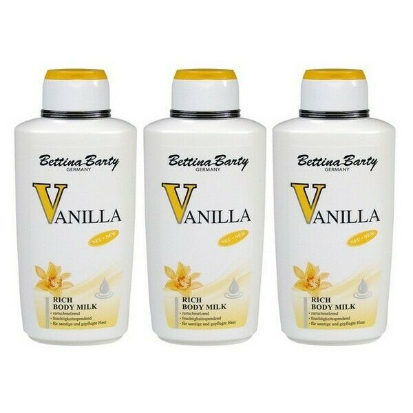Bettina Barty Vanilla Rich Body Milk 3 x 500 ml