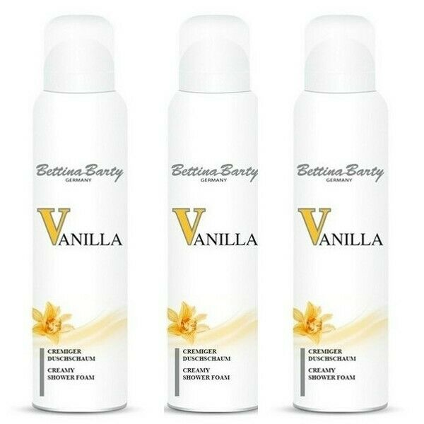 Bettina Barty Vanilla Cremiger Duschschaum 3 x 200 ml