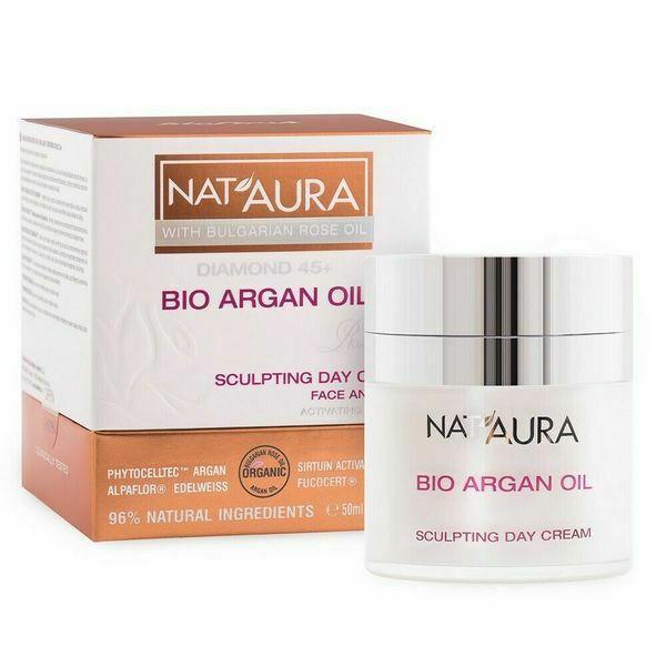 Nat'Aura Diamond 45+ Tagescreme mit Bio Arganöl 50 ml
