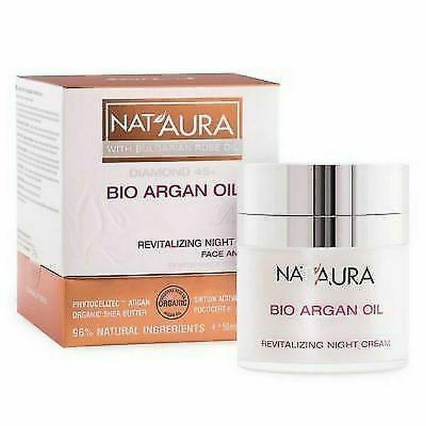 Nat'Aura Diamond 45+ Nachtcreme mit Bio Arganöl 50 ml